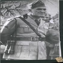 1939 Press Photo Rodolfo Graziani