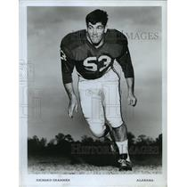 1969 Press Photo Richard Grammer, Alabama Crimson Tide Football Player