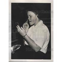 1938 Press Photo Patty Berg wins Women's Masters at Augusta Georgia - nes53452
