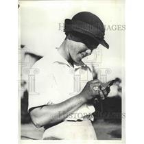1936 Press Photo Patty Berg at Miami Biltmore golf Coral Gables Florida
