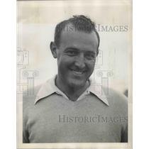 1944 Press Photo Gene Sarazen & Vic Ghezzi at Red Cross golf tournament in NY