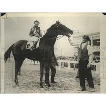 1925 Press Photo B Steele on Sun Altos won at New Orleans Jefferson Park