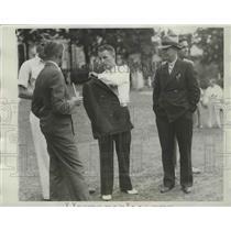 1934 Press Photo Charles Kocsis wins at Intercollegiate Golf at Cleveland Ohio