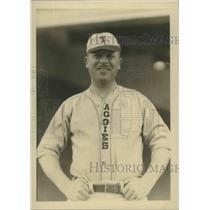 Press Photo Earl L. Lyons, Texas Aggie freshman baseball coach - sbs01559