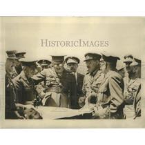 1924 Press Photo Primo De Rivera with General Aizpuru in Morocco - sbz00336