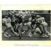 Press Photo New Orleans Saints - Action during a game with Philadelphia Eagles.