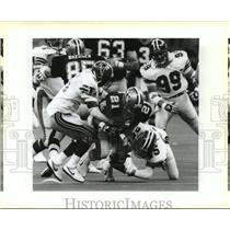 1988 Press Photo New Orleans Saints - Action on the field. - nos00476