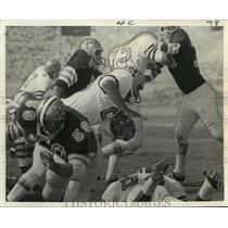 1968 Press Photo New Orleans Saints- Saints running back Charlie Brown runs.