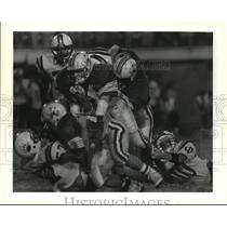 1989 Press Photo High School Football- Bonnabel vs Grace King Football Game.