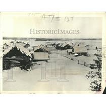 1933 Press Photo Markovo Siberia Anadir Region Village