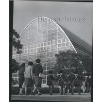 1965 Press Photo Shinjuku Gyoen Garden Tokyo Japan