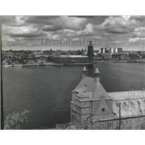 1965 Press Photo Stockholm City Sweden