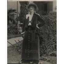 1922 Press Photo Florence Sutton, Tennis Player - nef54662