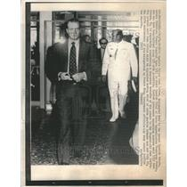 1974 Press Photo Prince Juan Carlos Francisco Franco