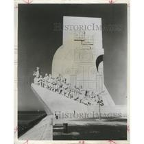 Press Photo Monument Discoveries Lisbon Portugal
