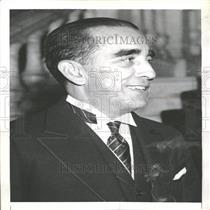 1936 Press Photo Miguel Mariand Gomez Havana Cuba Suger