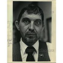 1986 Press Photo Richard C. Carter, Assistant Chancellor University of Wisconsin