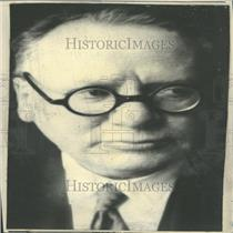 1933 Press Photo Maxim Litvinov Soviet Union Diplomat