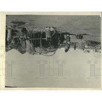 1929 Press Photo Jibuti Village Residents Working - RRY35991