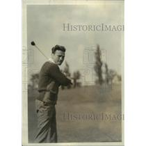 1923 Press Photo Golfer Charley White at Excelsior Springs Missouri - net33443