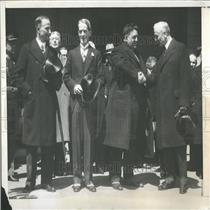1933 Press Photo Premier Herriot/France/Pres. Roosevelt
