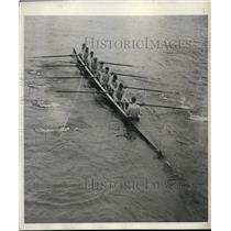 1932 Press Photo US Naval Academy crew in race vs Columbia U - net30162