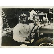 1929 Press Photo Kaye Don & His Mechanic After Winning International Tourist