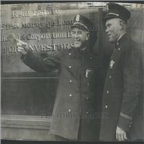 1927 Press Photo Police Capt. Frank Campbell R.E. Olson - RRY29893