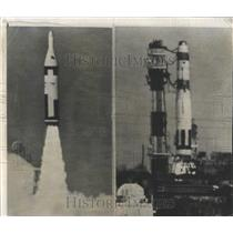1960 Press Photo US Polaris Missile