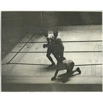 1931 Press Photo Loughran And Ozcudun During Their Boxing Fight - net33038