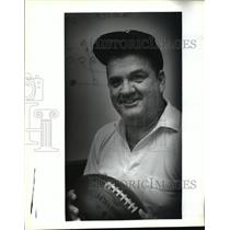 1992 Press Photo Football- Abramson's new head football coach Dave Titus.