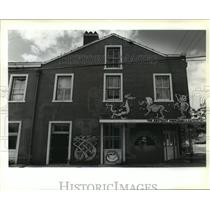 1991 Press Photo Bookstores- Exterior of the Abstract Bookstore and Café.