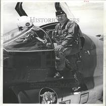 1974 Press Photo Robert A Flick Air National Guard