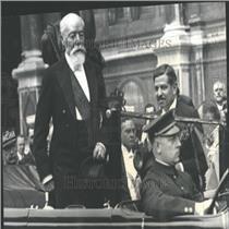 1931 Press Photo Pierre Laval Paul Doumer Inauguration