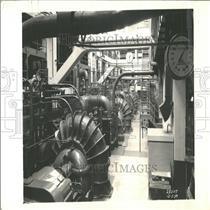 1960 Press Photo Southwest Sewage Balcony Pump Works