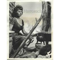 """1962 Press Photo Actress Sophia Loren in """"The Pride and the Passion"""" Movie"""