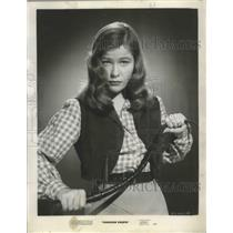 """1950 Press Photo Actress Nancy Olson for """"Canadian Pacific"""" Movie - ftx02632"""