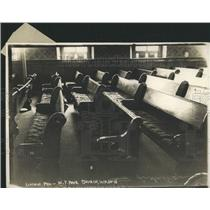 1913 Press Photo President Lincoln's Pew