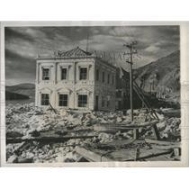 1944 Press Photo Dawson, Yukon Territory After A Floord