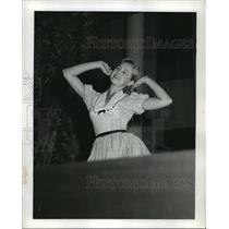 1957 Press Photo Miss Alabama of 1956 Anne Ariail - abnx00584