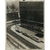 1960 Press Photo Snow in Birmingham, Alabama - abnx00593