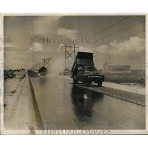 1955 Press Photo New Stretch on Causeway in Alabama - abnx00650