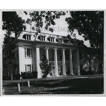 1967 Press Photo Founders Hall at Athens College in Athens, Alabama - abnx00703