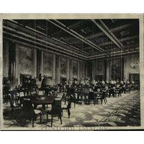 1929 Press Photo Gaming room of Casino in Nice France - sbx01355