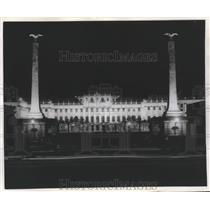 1955 Press Photo Schoenbrunn Palace, Vienna, Austria - ftx01692