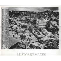 1962 Press Photo Caracas, Venezuela School Building - ftx01909