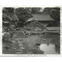 1963 Press Photo Kyoto, Japan Gardens - ftx02011