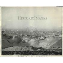 1931 Press Photo Pack Ice on Siberian Coast on Charles Lindbergh Flight