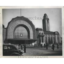 1948 Press Photo Helsinki, Finland Railway Station - ftx02106