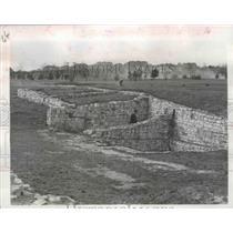 1957 Press Photo Lidice, Czechoslovakia,Horak House Used by Nazis - ftx02156